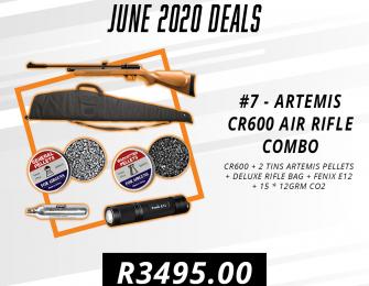 ARTEMIS CR600 AIR RIFLE COMBO